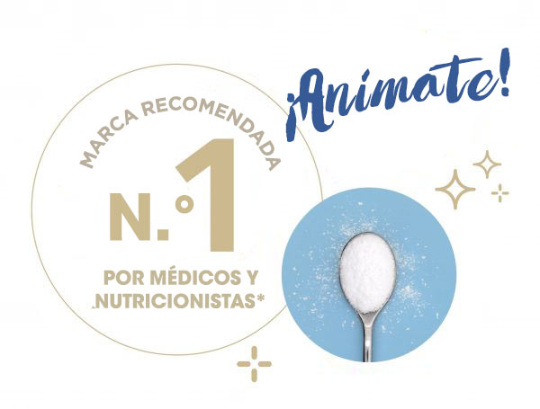 #1 recommended brand by doctors and dietitians